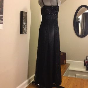 Vintage Cache Beaded Gown
